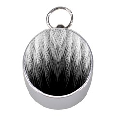 Feather Graphic Design Background Mini Silver Compasses by BangZart