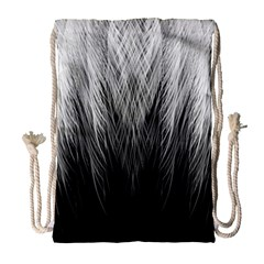 Feather Graphic Design Background Drawstring Bag (large) by BangZart