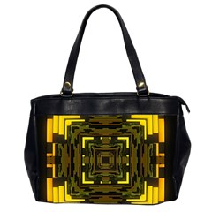 Abstract Glow Kaleidoscopic Light Office Handbags (2 Sides)