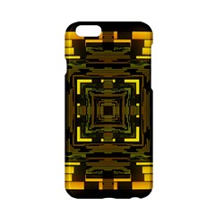 Abstract Glow Kaleidoscopic Light Apple Iphone 6/6s Hardshell Case by BangZart