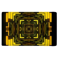 Abstract Glow Kaleidoscopic Light Apple Ipad Pro 9 7   Flip Case by BangZart