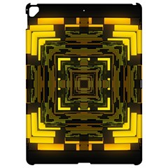 Abstract Glow Kaleidoscopic Light Apple Ipad Pro 12 9   Hardshell Case