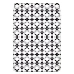Pattern Background Texture Black Flap Covers (l)  by BangZart