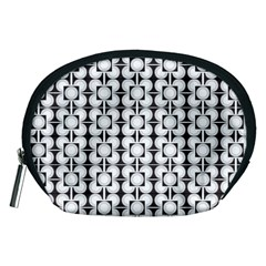 Pattern Background Texture Black Accessory Pouches (medium)  by BangZart