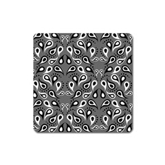 Paisley Pattern Paisley Pattern Square Magnet by BangZart