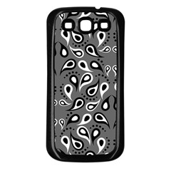 Paisley Pattern Paisley Pattern Samsung Galaxy S3 Back Case (black) by BangZart