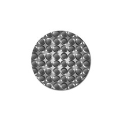 Metal Circle Background Ring Golf Ball Marker by BangZart