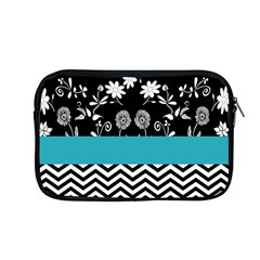 Flowers Turquoise Pattern Floral Apple Macbook Pro 13  Zipper Case by BangZart