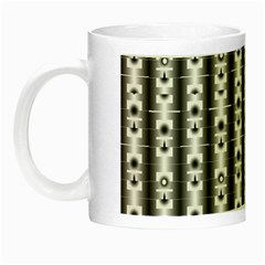 Pattern Background Texture Black Night Luminous Mugs