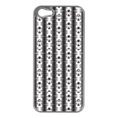 Pattern Background Texture Black Apple Iphone 5 Case (silver) by BangZart