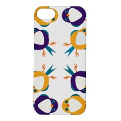 Pattern Circular Birds Apple Iphone 5s/ Se Hardshell Case by BangZart