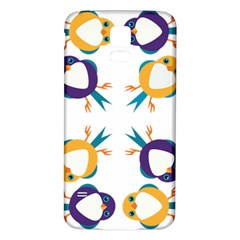 Pattern Circular Birds Samsung Galaxy S5 Back Case (white) by BangZart
