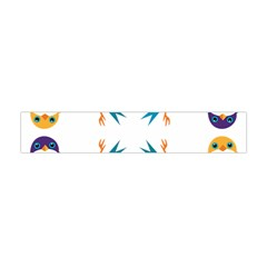 Pattern Circular Birds Flano Scarf (mini) by BangZart