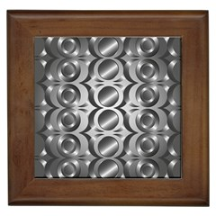 Metal Circle Background Ring Framed Tiles by BangZart