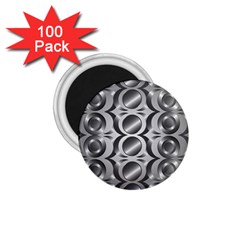 Metal Circle Background Ring 1 75  Magnets (100 Pack)  by BangZart