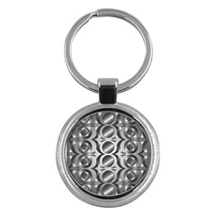 Metal Circle Background Ring Key Chains (round)  by BangZart