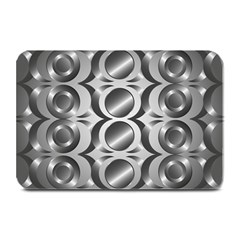 Metal Circle Background Ring Plate Mats by BangZart