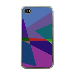 Abstract #415 Tipping Point Apple Iphone 4 Case (clear) by RockettGraphics