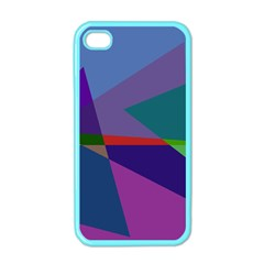 Abstract #415 Tipping Point Apple Iphone 4 Case (color) by RockettGraphics