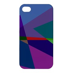 Abstract #415 Tipping Point Apple Iphone 4/4s Hardshell Case by RockettGraphics