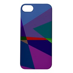 Abstract #415 Tipping Point Apple Iphone 5s/ Se Hardshell Case by RockettGraphics