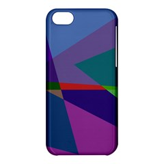 Abstract #415 Tipping Point Apple Iphone 5c Hardshell Case by RockettGraphics