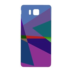 Abstract #415 Tipping Point Samsung Galaxy Alpha Hardshell Back Case by RockettGraphics