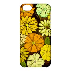 Abstract #417 Apple Iphone 5c Hardshell Case by RockettGraphics