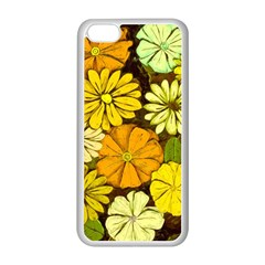 Abstract #417 Apple Iphone 5c Seamless Case (white) by RockettGraphics