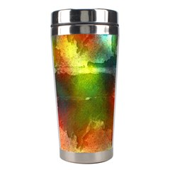 Peeled Wall                         Stainless Steel Travel Tumbler by LalyLauraFLM