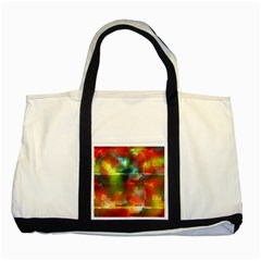 Peeled Wall                         Two Tone Tote Bag by LalyLauraFLM