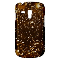 Festive Bubbles Sparkling Wine Champagne Golden Water Drops Galaxy S3 Mini by yoursparklingshop