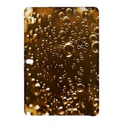 Festive Bubbles Sparkling Wine Champagne Golden Water Drops Samsung Galaxy Tab Pro 10 1 Hardshell Case by yoursparklingshop