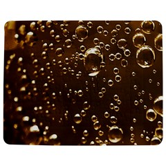 Festive Bubbles Sparkling Wine Champagne Golden Water Drops Jigsaw Puzzle Photo Stand (rectangular) by yoursparklingshop
