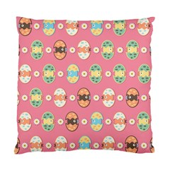 Cute Eggs Pattern Standard Cushion Case (two Sides) by linceazul