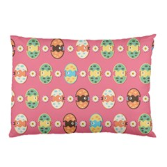 Cute Eggs Pattern Pillow Case by linceazul
