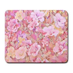 Lovely Floral 36a Large Mousepads by MoreColorsinLife