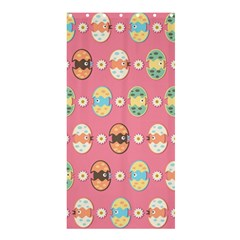 Cute Eggs Pattern Shower Curtain 36  X 72  (stall)  by linceazul