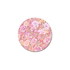 Lovely Floral 36a Golf Ball Marker by MoreColorsinLife