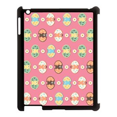 Cute Eggs Pattern Apple Ipad 3/4 Case (black) by linceazul