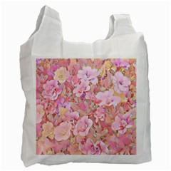 Lovely Floral 36a Recycle Bag (one Side) by MoreColorsinLife