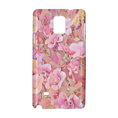 Lovely Floral 36a Samsung Galaxy Note 4 Hardshell Case by MoreColorsinLife