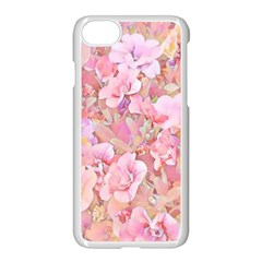 Lovely Floral 36a Apple Iphone 7 Seamless Case (white) by MoreColorsinLife