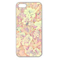 Lovely Floral 36b Apple Seamless Iphone 5 Case (clear) by MoreColorsinLife
