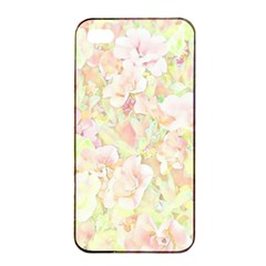 Lovely Floral 36c Apple Iphone 4/4s Seamless Case (black) by MoreColorsinLife