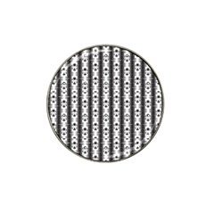 Pattern Background Texture Black Hat Clip Ball Marker (10 Pack) by BangZart