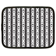 Pattern Background Texture Black Netbook Case (xl)  by BangZart