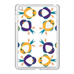 Pattern Circular Birds Apple Ipad Mini Case (white) by BangZart