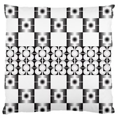 Pattern Background Texture Black Standard Flano Cushion Case (one Side) by BangZart