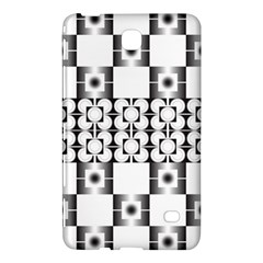 Pattern Background Texture Black Samsung Galaxy Tab 4 (8 ) Hardshell Case  by BangZart